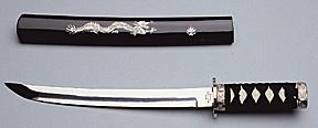 House Brand Samurai Dragon Tanto